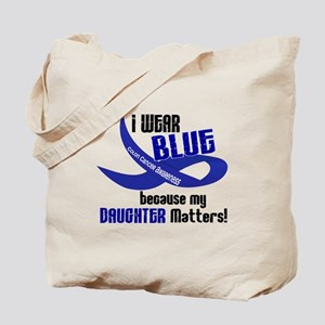 I Wear Blue For My Daughter 33 CC Tote Bag