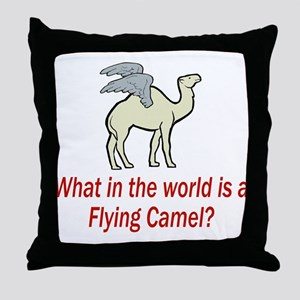 What in the World.... Throw Pillow