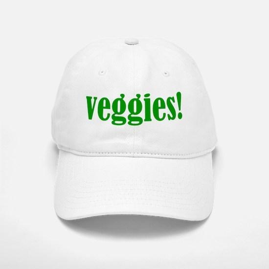 Veggies! Baseball Baseball Cap
