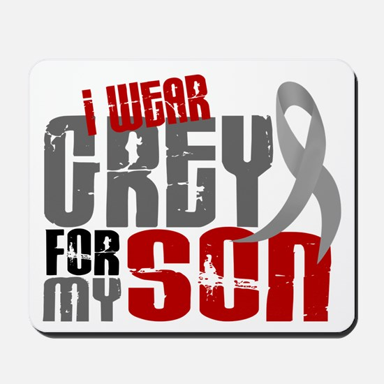 I Wear Grey For My Son 6 Mousepad