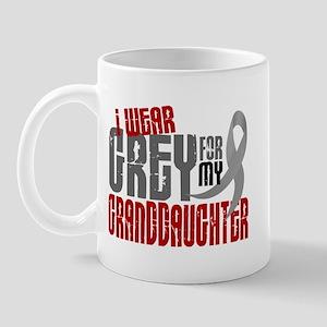 I Wear Grey For My Granddaughter 6 Mug