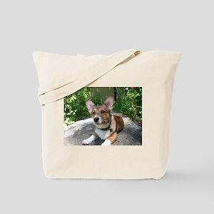 Summer Corgi Tote Bag