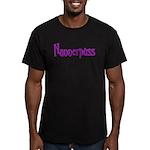 nannerpuss Men's Fitted T-Shirt (dark)