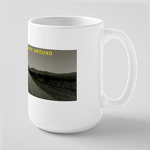 UPDOWNLONGWAYAROUND Large Mug