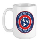 Tennessee Masons Large Mug