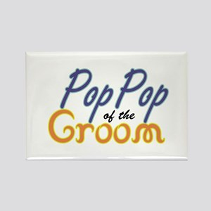 PopPop of the Groom Rectangle Magnet