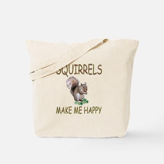 Squirrels Tote Bag