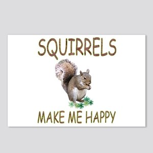 Squirrels Postcards (Package of 8)