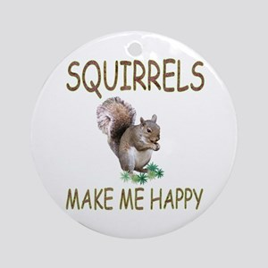 Squirrels Ornament (Round)