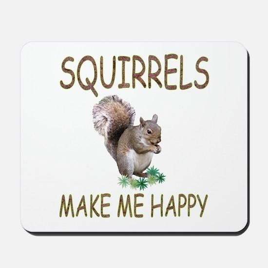 Squirrels Mousepad
