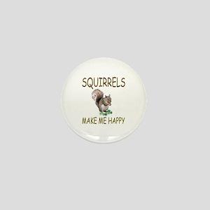 Squirrels Mini Button