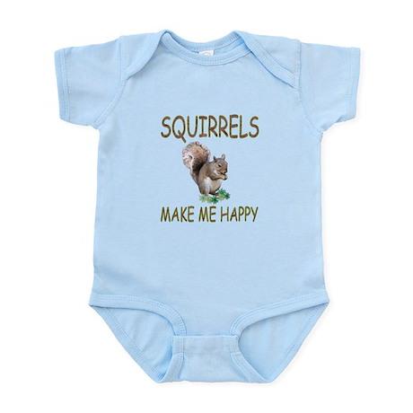 Squirrels Infant Bodysuit