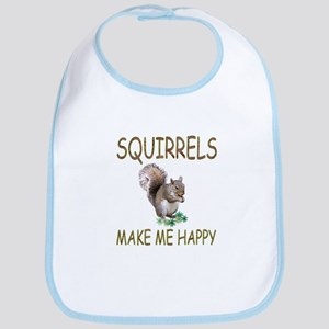Squirrels Bib