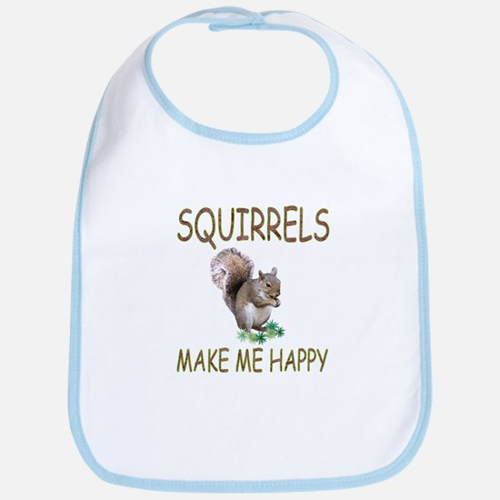 Squirrels Bib