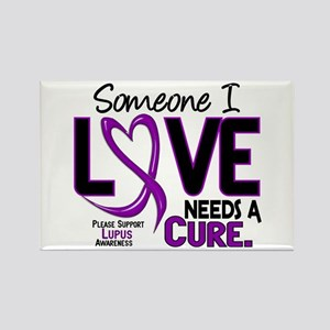 Needs A Cure 2 LUPUS Rectangle Magnet