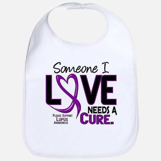 Needs A Cure 2 LUPUS Bib