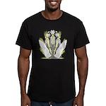Faith & Light Men's Fitted T-Shirt (dark)