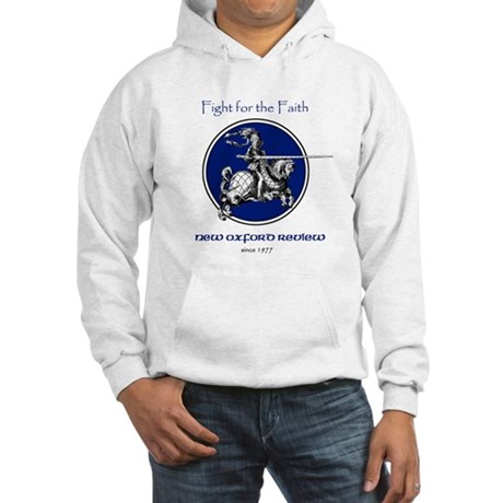 Fight for the Faith Hooded Sweatshirt