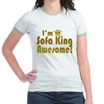 I'm Sofa King Awesome Jr. Ringer T-Shirt