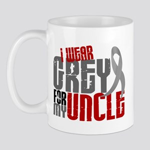 I Wear Grey For My Uncle 6 Mug