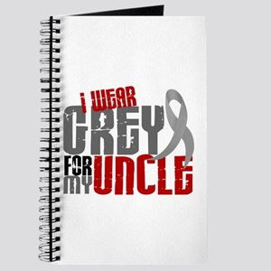 I Wear Grey For My Uncle 6 Journal