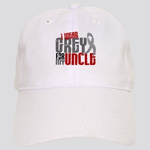 I Wear Grey For My Uncle 6 Cap