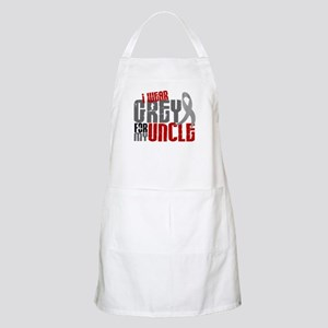 I Wear Grey For My Uncle 6 BBQ Apron
