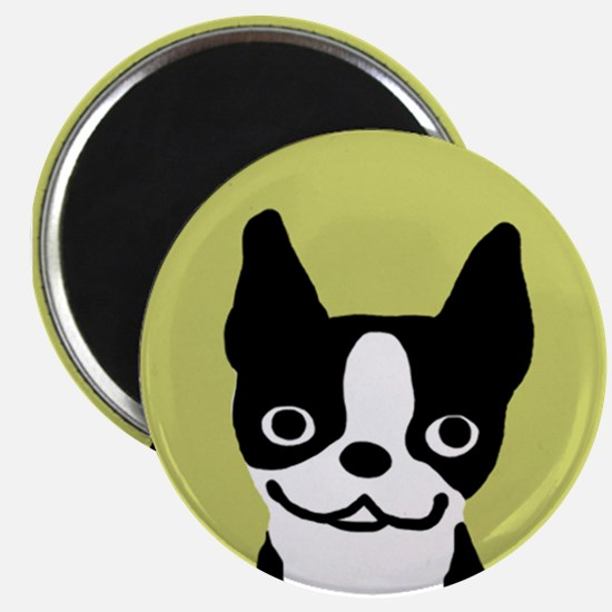 Boston Terrier Smile Magnet