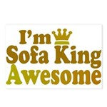 I'm Sofa King Awesome Postcards (Package of 8)