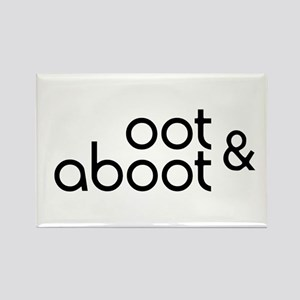 Oot & Aboot Rectangle Magnet