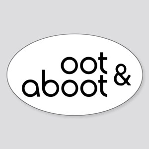 Oot & Aboot Sticker (Oval)