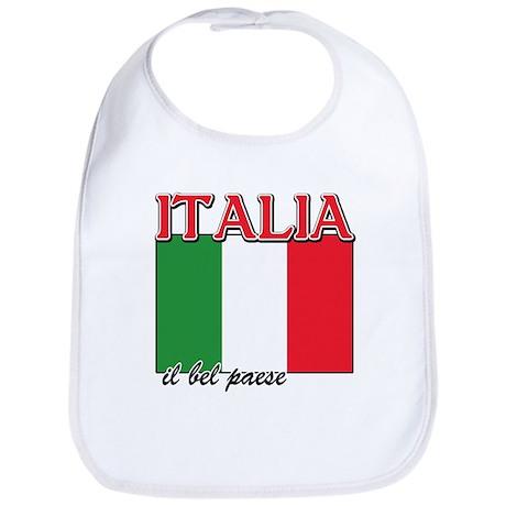 Italian pride Bib