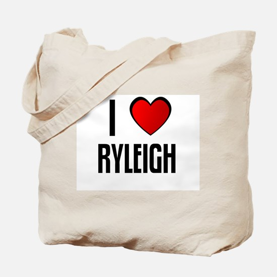 I LOVE RYLEIGH Tote Bag