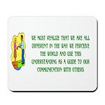 Inspiration and Humor Mousepad