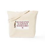 Inspiration and Humor Tote Bag