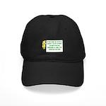 Inspiration and Humor Black Cap