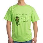Want a little Irish in you? Green T-Shirt