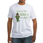 Want a little Irish in you? Fitted T-Shirt