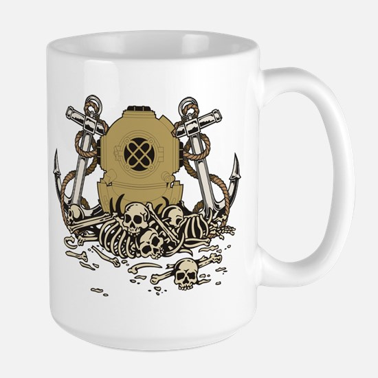 Deep Diver Large Mug