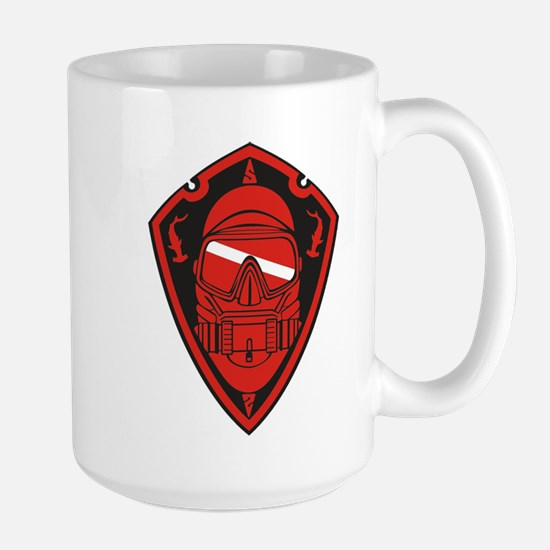 Dive Shield Large Mug