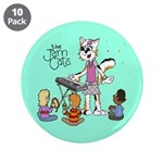 """The Jam Cats 3.5"""" Button (10 pack)"""