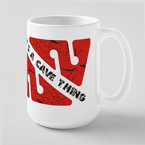 Cave Diver Large Mug