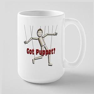 Bobby Jindal, new puppet Large Mug