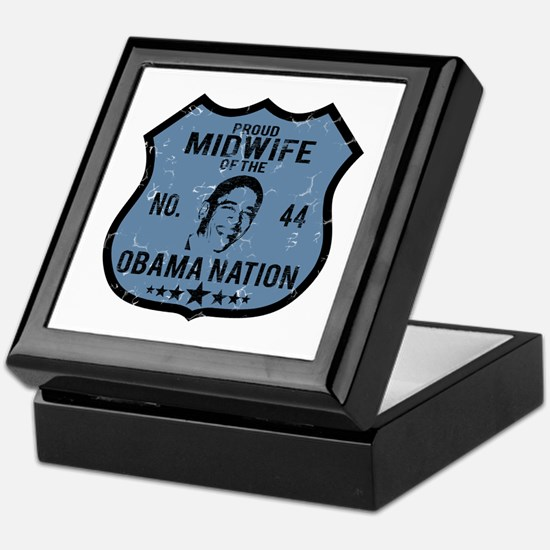 Midwife Obama Nation Keepsake Box