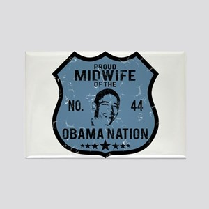 Midwife Obama Nation Rectangle Magnet