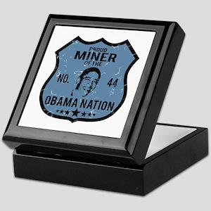 Miner Obama Nation Keepsake Box