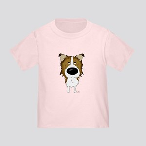 Big Nose/Butt Rough Collie Toddler T-Shirt