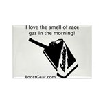 Smell Of Race Gas - Rectangle Magnet (100 pack)