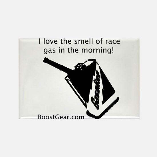 Love The Smell Of Race Gas - Rectangle Magnet