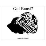 Got Boost? - BoostGear.com - Small Turbo Poster